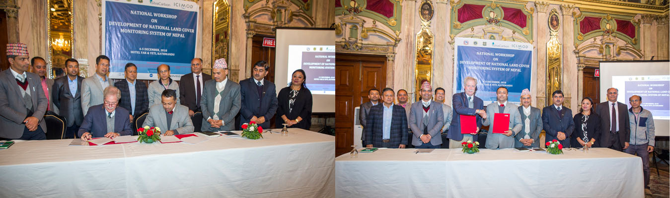 LOI signing ceremony with ICIMOD
