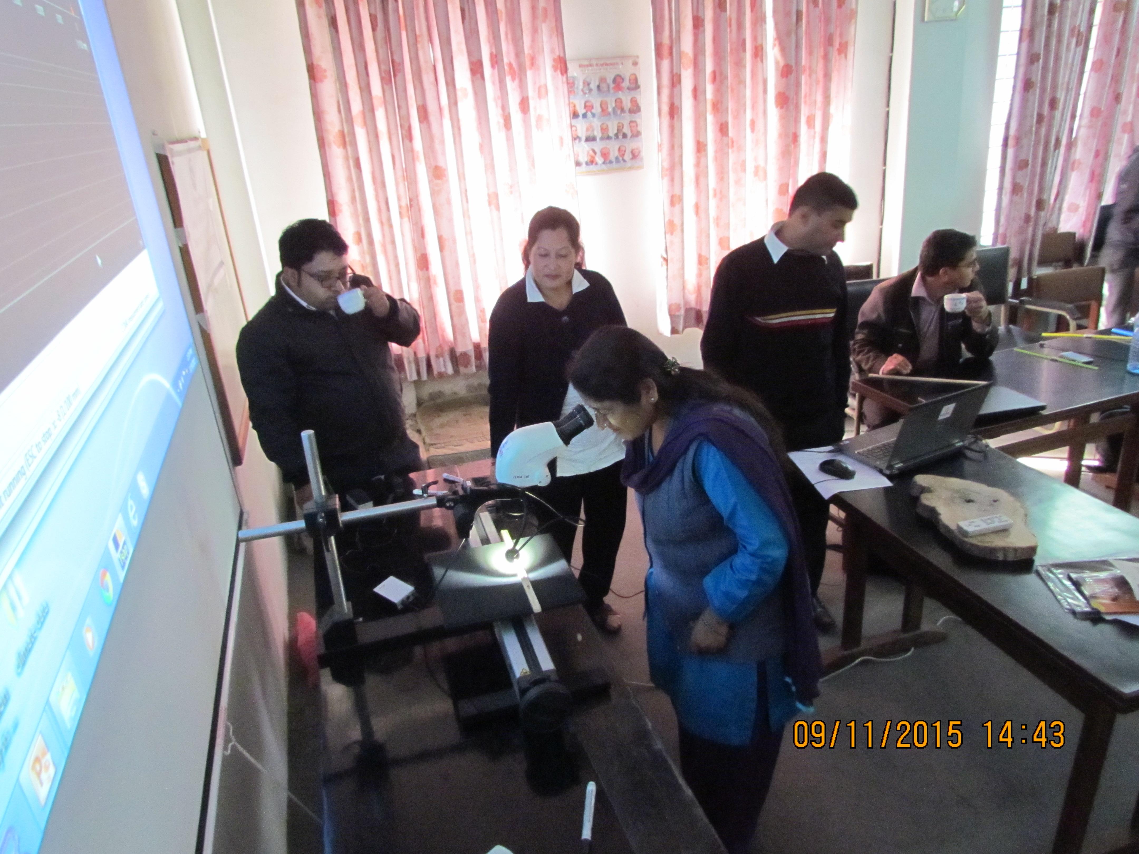 Dendrocronological Training Photo